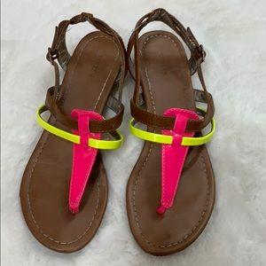 Neon Colors Sandals